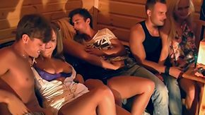 Stella, 3some, 4some, Blowjob, College, Double
