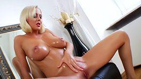 Teen Masturbation, Banging, Bed, Bend Over, Big Natural Tits, Big Tits