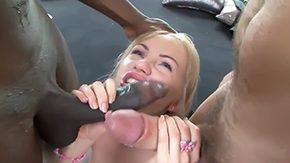 Sasha Blond, 3some, Big Tits, Blonde, Blowjob, Boobs