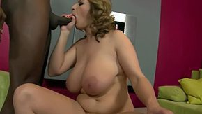 Free Big Black Cock HD porn Michael Chapman playing with her beefy juicy melon tits polishing Salinass black 10-Pounder Salinas