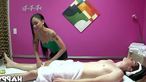 Japanese Massage, Asian, Ball Licking, Blowjob, Boobs, Deepthroat