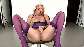 Sophie Moon, Amateur, Banana, Blonde, Corset, Crotchless