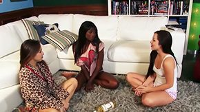 Lola Foxx High Definition sex Movies Lola Foxx gets deep licked sucked by horny lesbians betwixt arousing Male+Male+Female