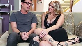 Julia Ann, Aunt, Babe, Banging, Bed, Big Tits