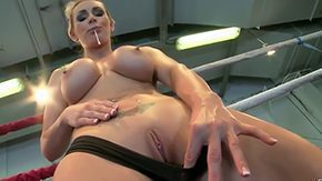 Wrestling, Babe, Big Tits, Blowjob, Boobs, Cougar