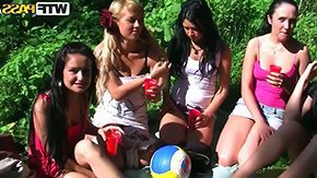 Tight Babe, Babe, College, Drilled, Group, High Definition