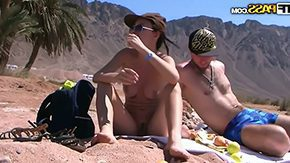 Nude Beach HD porn tube This babe sucks his wang afterwards takes him to her favourite nude beach nearby