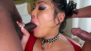 Mya Minx HD porn tube Hot chinese honey mya sucks more considerable cock later swallows it gross in deepthroat Minx D Snoop