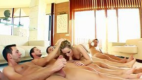 Petra Pearl High Definition sex Movies Inviting blonde Pearl enjoy being fucked in her soggy cunt by five big dicks group sex Petra