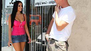 Joe Blow High Definition sex Movies You are a Pornstar aren't u Mikayla brunette hair long hair enormous boobs dork ride side