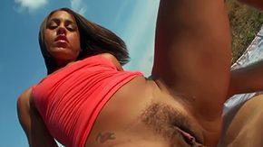 Jazmine Beach HD porn tube Tender Latina Jazmine Beach slides down her fleecy wet cunt beefy wiener out on field