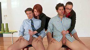 Steve Holmes, 4some, Black, Black Orgy, Black Swingers, CFNM