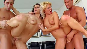 Filming, 4some, Banging, Bitch, Blonde, Boobs
