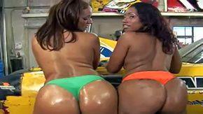 Garage, Ass, Babe, Big Ass, Big Natural Tits, Big Tits