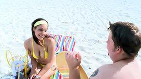 Shane, Aunt, Beach, Big Natural Tits, Big Nipples, Big Tits