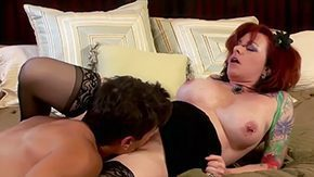 Cougar Mom, Aunt, Big Cock, Blowjob, Cougar, High Definition