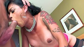 Gay Black, Asian, Bitch, Blowjob, Boobs, Deepthroat