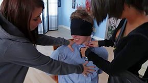Enema, Audition, BDSM, Behind The Scenes, Big Tits, Blindfolded