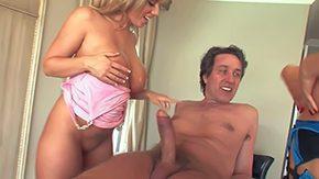 Steve Holmes, Big Cock, Big Natural Tits, Big Tits, Blonde, Blowjob