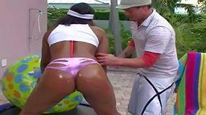White Panties, Ass, Beach, Beach Sex, Big Ass, Black