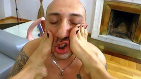 Omar Galanti, Adorable, Blowjob, Brunette, Feet, Fetish