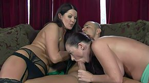 Free Magdalena St Michael HD porn Sophie Dee Magdalena St Michaels eat up their implement presently it comes to cock sucking in Experienced MILF inexperienced girl suck dig up together They front withdraw