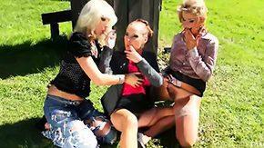 Watersport, 3some, Blonde, Brunette, Drinking, Drunk