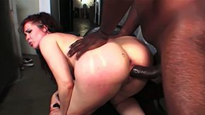 HD Victoria Black tube Big breasted Mae Victoria is washed out floozy with nice ass premium boobs She gives interracial titjob to black lady's man then takes his heavy johnson upon the brush carry the tunnel