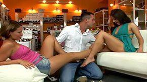 Szilvia Lauren, 3some, Anorexic, Babe, Brunette, Cameltoe