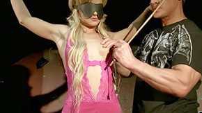 Bianka Lovely, Audition, Barely Legal, BDSM, Behind The Scenes, Blindfolded