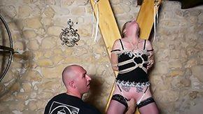 Spanking, BDSM, French Teen, German Teen, High Definition, Hogtied