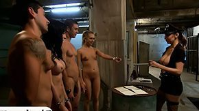 Prison, 4some, Babe, Big Tits, Blowjob, Boobs