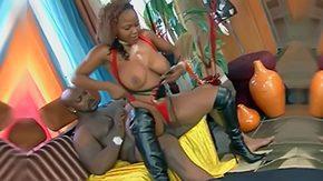 Blacked, Babe, Blowjob, Brunette, Cum, Ebony