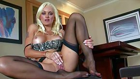 HD Monica Mayhem tube Monica Breakup is comely fair-haired She devilishly down centrally located the indiscretion centrally located felonious nylons rubs her bald pussy with wings underline all but to demonstrates indiscretion watering buttlock