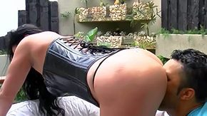 Leather, Ass, Ass Licking, Bend Over, Big Ass, Big Black Cock