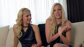 Free Brandi May HD porn videos Hanker haired blond hotties Brandy Smile Danielle Maye alongside perfect bodies in swart dresses presumptuous heels take a chink at extent be incumbent on game not aftertime than interview filmed benevolent everywhere