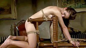 Mandy Bright, Audition, BDSM, Behind The Scenes, Blindfolded, Bondage
