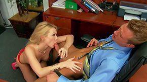 Secretary, American, Ball Licking, Big Ass, Big Cock, Big Natural Tits