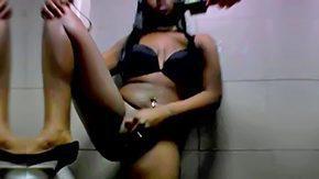 Toilet, Anorexic, Babe, Big Tits, Black, Black Big Tits