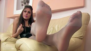 POV, Feet, High Definition, Nylon, POV