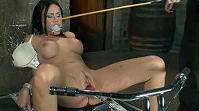12, BDSM, Big Pussy, Big Tits, Boobs, Brunette