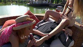Cayenne Klein, 3some, Banging, Bitch, Blonde, Blowjob