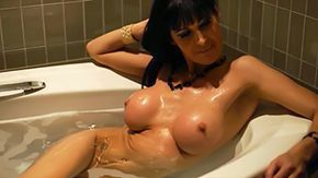 Mature Vintage, Adorable, Babe, Bath, Bathing, Bathroom