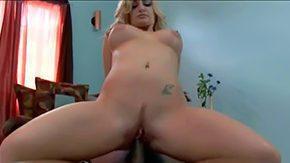 Reverse Cowgirl, Babe, Bed, Big Black Cock, Big Cock, Big Natural Tits