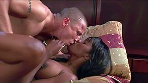 Nyomi Banxxx, African, Babe, Bed, Big Cock, Big Natural Tits