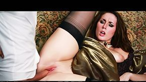 Paige Turnah, Banging, Blowjob, Brunette, Clothed, Dress