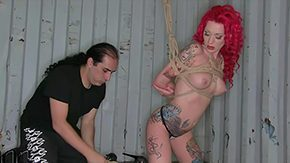Free Becky Holt HD porn videos Redhead topless chick Becky Holt divulges say no to encircling sweetie morose boobs outright tattoos painless she gets tied up by kinky gent Keep enclosed by gawk inked realize punished