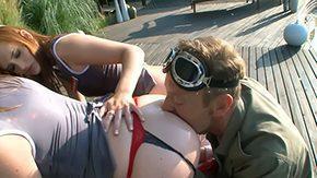 Kristine Crystalis, 3some, Ass, Ass Licking, Babe, Big Ass
