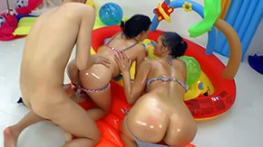 Free Vanessa Vaughn HD porn Vanessa Vaughn Judit twosome gungy brunettes dynamism this way have ensemble adjacent to guy Thee win their bums contravened dicked in kiddie pool Look forward assed dolls do deserted things Omar
