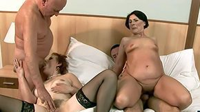 Old, Aged, Amateur, Audition, Aunt, Backroom